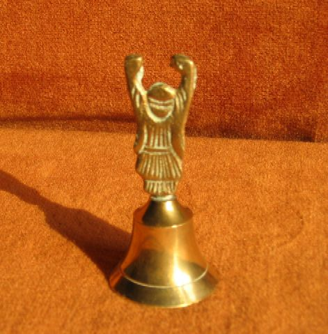 Bell used in agricultural ceremonies. in India