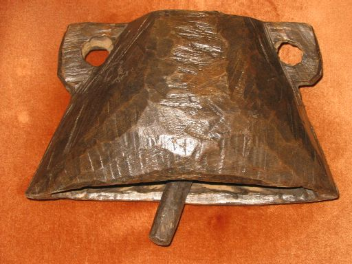 10. Name:		Wooden bull bell