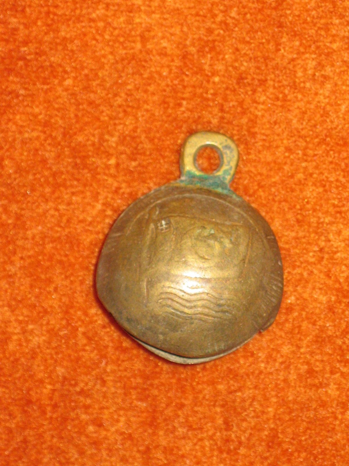 Islamic bell from Pakistan, sec. XV-XVI