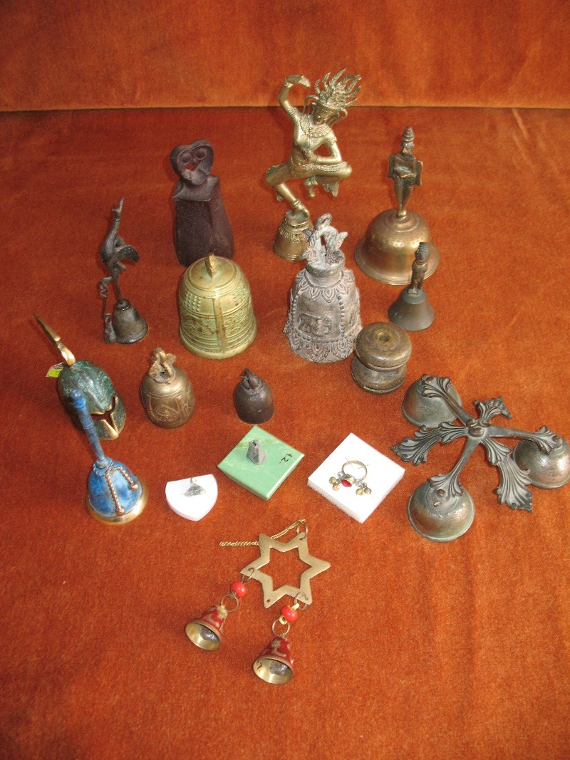 bells comming from 18,th century B.C. to 10,th century