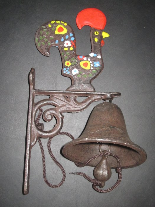 a cast iron bell from Portugal, 2012