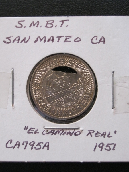"A coin aviable for one ride on ""The Kings Highway""