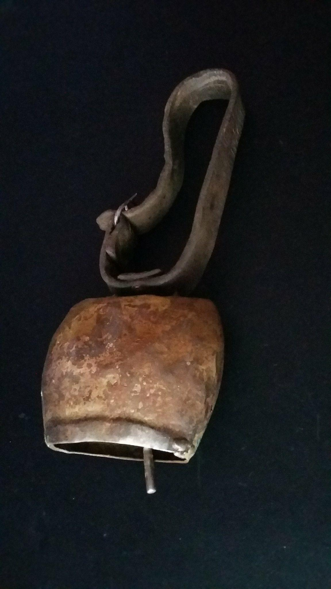 This is an old and original ram bell from Soúgia, Chania, Greece.