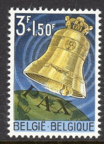 Belgium Scott - 1963 Peace Bell stamp